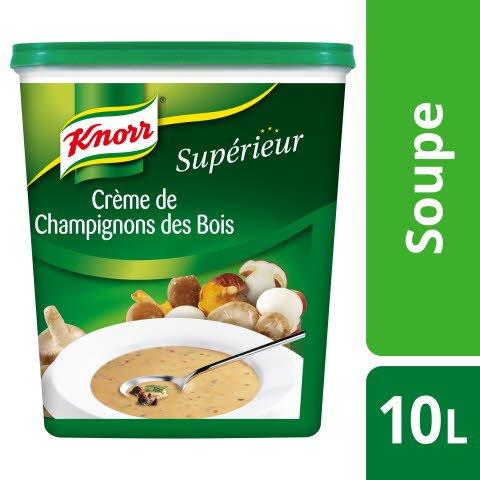 Knorr Supérieur Crème de Champignons des Bois 1kg 40 portions