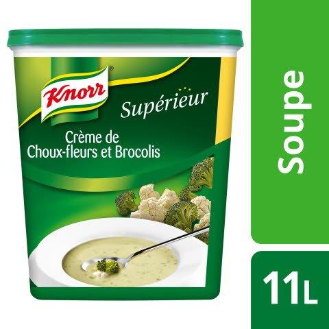 Knorr Supérieur Crème de Choux-Fleur Brocolis 1,19kg 44 portions