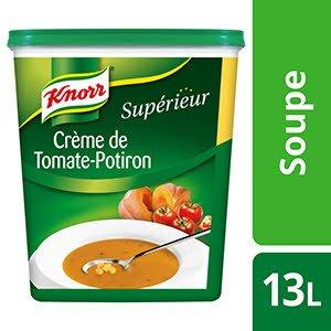 Knorr Supérieur Crème de Tomate Potiron 1,17kg 52 portions -