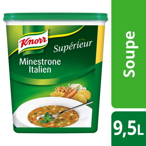 Knorr Supérieur Minestrone Italien 500g 38 portions