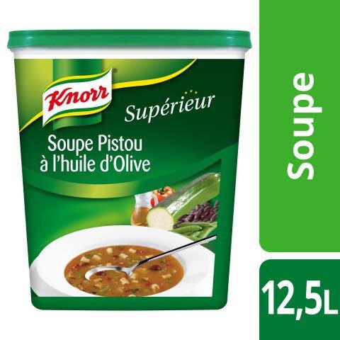 Knorr Supérieur Soupe au Pistou à l'Huile d'Olive 1,125kg 50 portions
