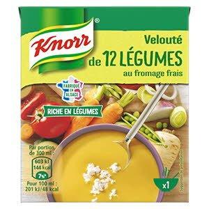 Knorr Velouté de 12 Légumes au Fromage Frais 30cl -