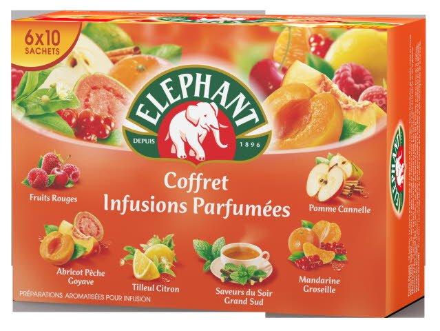 Lipton Coffret Infusions 60 Sachets Enveloppés