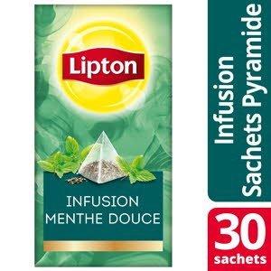 Lipton Exclusive Selection Infusion Menthe douce 30 sachets fraîcheur