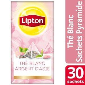Lipton Exclusive Selection Thé Argent d'Asie Rose 30 Sachets Pyramides