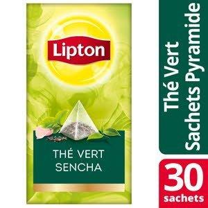Lipton Exclusive Selection Thé Vert Sencha 25 sachets pyramide