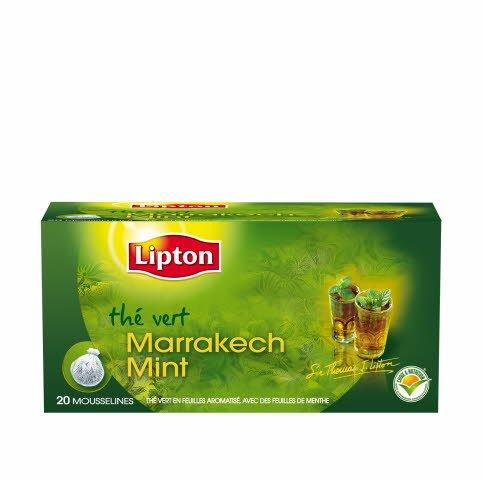 Lipton Marrakech Mint 20 Sachets Mousseline