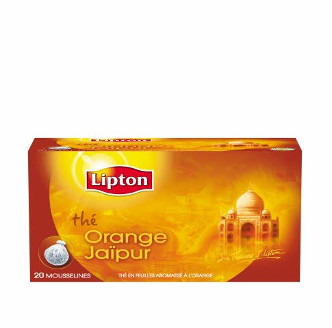 Lipton Orange Jaïpur 20 Sachets Mousseline