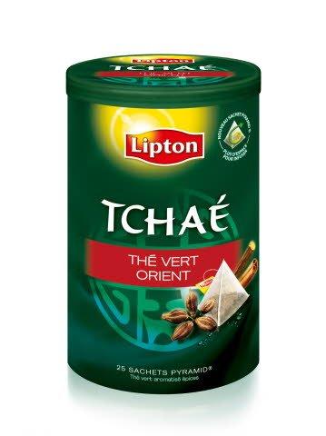 Lipton Tchaé Thé Vert Orient Sachets 25 Pyramides