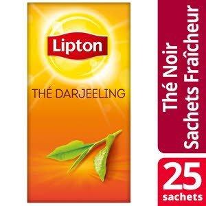 Lipton Thé Darjeeling 25 sachets fraîcheur