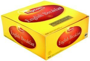 Lipton Thé noir English Breakfast 100 sachets service