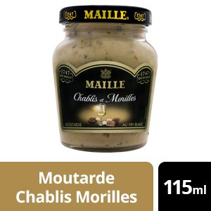 Maille Moutarde Chablis et Morilles - 12 x 115 ml