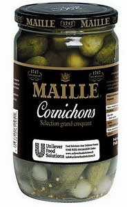 Maille Sélection Grand Croquant Cornichons Bocal 950g -