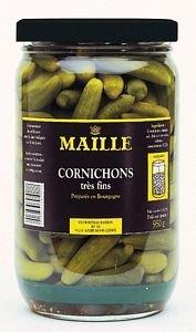 Maille Sélection Grand Croquant Cornichons très fins Bocal 950g