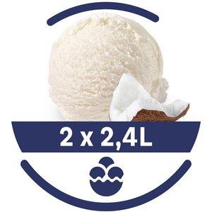 Mon Petit Glacier Bac Noix de Coco - 2 x 2,4 L -