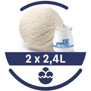 Mon Petit Glacier Bac Yaourt MALO - 2 x 2,4 L -
