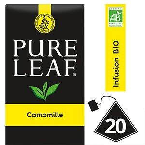 Pure Leaf BIO Infusion Camomille 20 sachets pyramides -