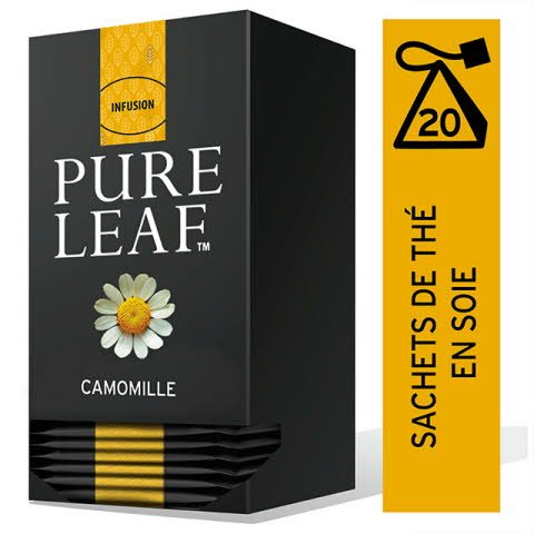 Pure Leaf Infusion Camomille 20 sachets pyramide -