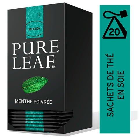 Pure Leaf Infusion Menthe Poivrée 20 sachets pyramide -
