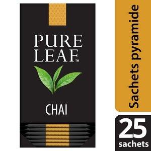 Pure Leaf Thé Noir Chai  25 sachets pyramides  -