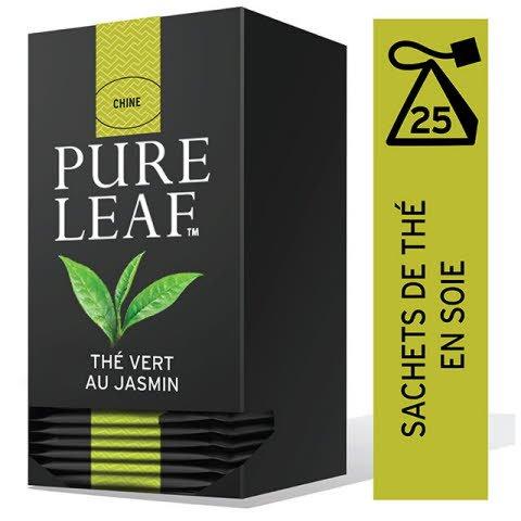 Pure Leaf Thé Vert au Jasmin 25 sachets pyramides  -
