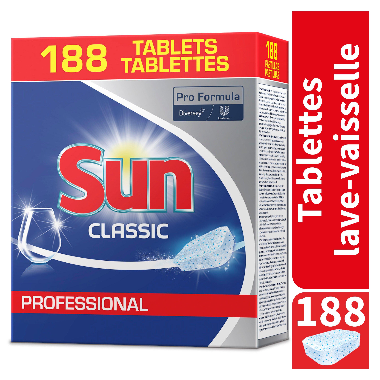 Sun Tablettes Professionnelles 4 x 188pc  -