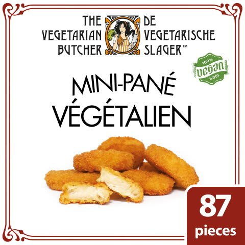 The Vegetarian Butcher Mini-pané Végétarien 1,75Kg -