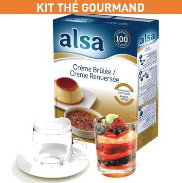 Un kit Thé Gourmand offert ! -