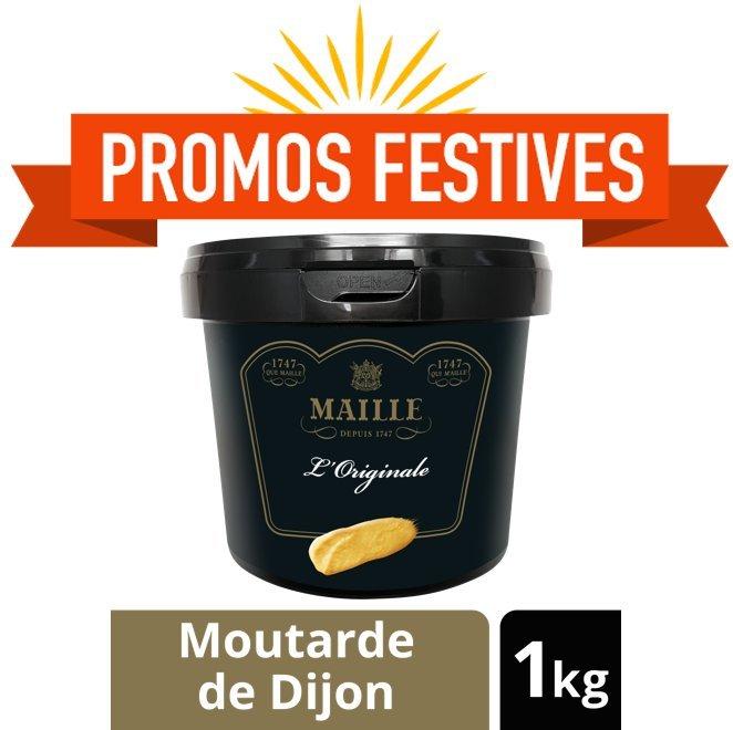 Un seau de Moutarde de Dijon Maille offert !