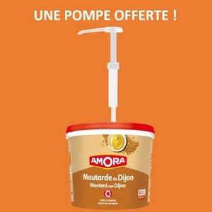 Une pompe en plastique Amora offerte ! -