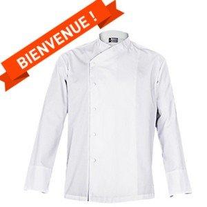 Une veste de chef offerte pour votre 1ère commande ! -
