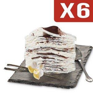 Viennetta Parfum Vanille Cacao Craquant x 6