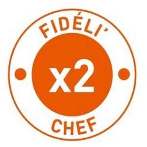 Vos points Fidéli'Chef doublés ! -