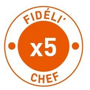 Vos points Fidéli'Chef multipliés par 5 ! -
