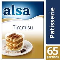 Alsa Crème pour Tiramisu 490g - 1 boîte de 65 portions - Fidéli'Chef