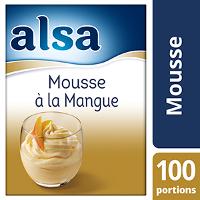Alsa Mousse à la Mangue 760g 100 portions