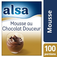 Alsa Mousse au Chocolat Douceur 960g 100 portions