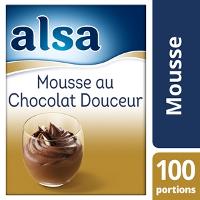 Alsa Mousse au Chocolat Douceur 960g 100 portions