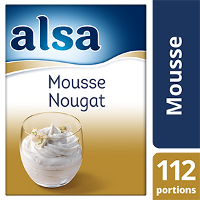 Alsa Mousse au Nougat 900g 112 portions