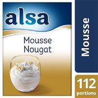 Alsa Mousse au Nougat 900g 112 portions