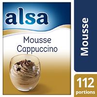 Alsa Mousse Cappuccino 820g 112 portions