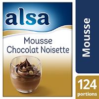 Alsa Mousse Chocolat/Noisette 1,2kg 124 portions