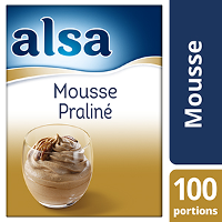 Alsa Mousse Praliné 1kg 100 portions