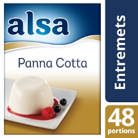 Alsa Panna Cotta 520g 48 portions