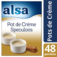 Alsa Pot de Crème au Biscuit Spéculoos 720g 48 portions