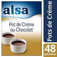 Alsa Pot de Crème au Chocolat 800g 48 portions