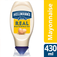 Hellmann's Real Mayonnaise flacon souple 430ml