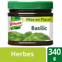 Knorr Mise en place Basilic 340g