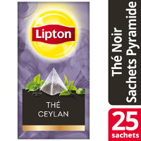 Lipton Exclusive Selection Ceylan Noir sachets Pyramides
