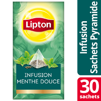 Lipton Exclusive Selection Infusion Menthe douce 25 sachets Pyramides
